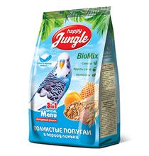 Happy Jungle 3in1 Special Menu / Корм Хеппи Джангл для Волнистых попугаев при Линьке