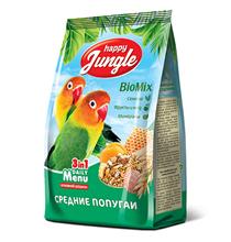 Happy Jungle 3in1 Daily Menu / Корм Хеппи Джангл для Средних попугаев