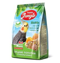 Happy Jungle 3in1 Special Menu / Корм Хеппи Джангл для Средних попугаев при Линьке