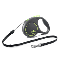 flexi Black Design S cord 5 m, for dogs up to 12 kg / Рулетка флекси для собак весом до 12 кг, трос 5 м