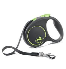 flexi Black Design S tape 5 m, for dogs up to 15 kg / Рулетка флекси для собак весом до 15 кг, лента 5 м