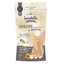 Sanabelle Tasty Treats with Chicken & Milk / Лакомство Санабелль для кошек Подушечки с Курицей и молоком