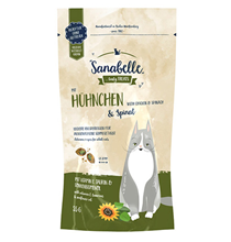 Sanabelle Tasty Treats with Chicken & Spinach / Лакомство Санабелль для кошек Подушечки с Курицей и шпинатом