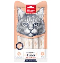 Wanpy Creamy Treat Tuna & Salmon / Лакомство Ванпи для кошек Нежное пюре из Тунца и Лосося