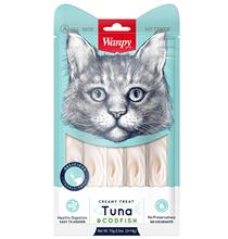 Wanpy Creamy Treat Tuna & Codfish / Лакомство Ванпи для кошек Нежное пюре из Тунца и Трески