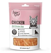 Wanpy Jerky Time Soft Chicken Jerky Strip / Лакомство Ванпи для кошек Мягкая вяленая соломка из Курицы