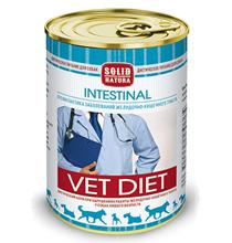 Solid Natura Vet Diet Intestinal / Ветеринарный влажный корм (консервы) Солид Натура для собак при нарушениях работы Желудочно-кишечного тракта (цена за упаковку)