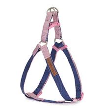 Camon / Шлейка Камон для собак Регулируемая двухцветная Синий/Розовый