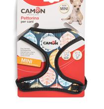 Camon Pettorina Mini / Шлейка Камон для собак Мелких пород Регулируемая с поводком 37 х 36~40 см