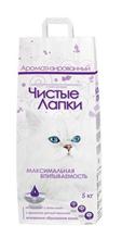 Заказать Чистые лапки (Clean Paws) Наполнитель для кошачьего туалета Комкующийся Ароматизированный по цене 370 руб