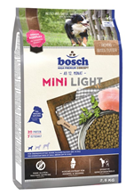 Bosch Mini Light / Сухой корм Бош Лайт для собак Мелких пород Низкокалорийный