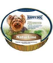 Happy Dog NaturLine / Паштет Хэппи Дог для собак Кролик (цена за упаковку, Германия)
