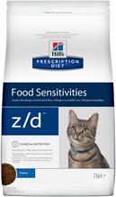 Hills Prescription Diet z / d Food Sensitivities / Сухой диетический гипоаллергенный корм Хиллс для кошек при пищевой Аллергии