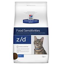 Hills Prescription Diet z\d Food Sensitivities / Лечебный корм Хиллс для кошек при Пищевой Аллергии