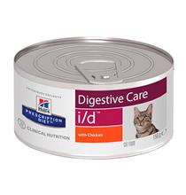 Hills Prescription Diet i\d Digestive Care / Лечебные консервы Хиллс для кошек при Заболеваниях ЖКТ Курица (цена за упаковку)