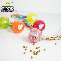 """Заказать SuperDesign / игрушка для собак """"Мячик с текстильными хвостиками"""" силиконовый 6,5 см по цене 340 руб"""