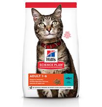 Hills Science Plan Adult / Сухой корм Хиллс для взрослых кошек Тунец