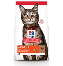 Hills Science Plan Adult Lamb / Сухой корм Хиллс для взрослых кошек Ягненок