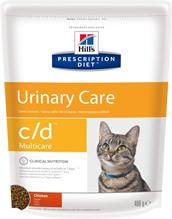 Hills Prescription Diet c / d Multicare Urinary Care / Сухой диетический корм Хиллс для кошек при лечении и профилактике цистита и мочекаменной болезни (МКБ) Курица