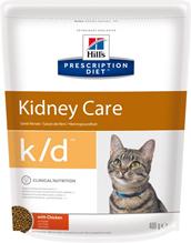 Hills Prescription Diet k\d Kidney Care / Лечебный корм Хиллс для кошек при Заболеваниях Почек МКБ Оксалаты Ураты Курица