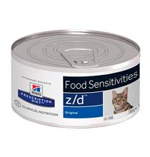 Hills Prescription Diet Feline z / d / Лечебные консервы Хиллс z/d для кошек Пищевая аллергия (цена за упаковку)