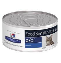 Hills Prescription Diet z\d Food Sensitivities / Лечебные консервы Хиллс для кошек при Пищевой Аллергии (цена за упаковку)