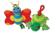 Заказать Petstages / Игрушка для собак в ассортименте Бабочка Черепашка текстиль по цене 260 руб
