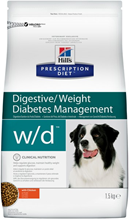 Hills Prescription Diet w\d Digestive Weight Diabetes Management / Лечебный корм Хиллс для собак при Сахарном диабете Запорах Колитах