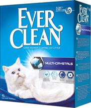 Ever Clean Multi Crystals / Наполнитель для кошачьего туалета комкующийся Эвер Клин с Мультикристаллами для Контроля запаха Сиреневый