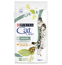 Purina Cat Chow Sterilised / Сухой корм Пурина Кэт Чау для Стерилизованных кошек