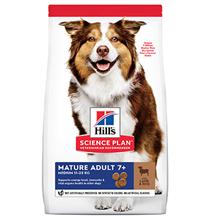 Hills Science Plan Mature Adult 7+ Medium Lamb & Rice / Сухой корм Хиллс для собак Средних пород старше 7 лет Ягненок с рисом