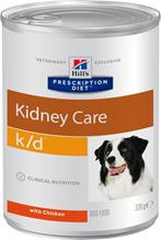 Hills Prescription Diet Canine k / d / Лечебные консервы Хиллс k/d для собак Заболевание почек (почечная недостаточность) (цена за упаковку)