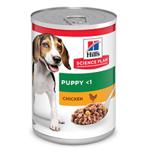 Hills Science Plan Puppy Chicken / Консервы Хиллс для щенков Курица (цена за упаковку)