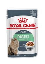 Заказать Royal Canin Digest Sensitive / Влажный корм (Консервы-Паучи) Роял Канин Дайджест Сенситив для кошек с Чувствительным пищеварением в Соусе (цена за упаковку) по цене 650 руб