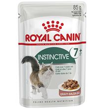 Royal Canin Instinctive 7+ / Влажный корм (Консервы-Паучи) Роял Канин Инстинктив для Пожилых кошек старше 7 лет в Соусе (цена за упаковку)