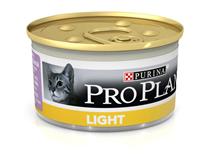 Purina Pro Plan Cat Light Turkey / Консервы Пурина Про План для кошек Низкокалорийные Индейка (цена за упаковку)