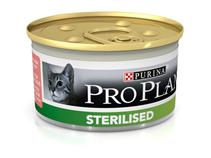 Purina Pro Plan Cat Sterilised Tuna & Salmon / Консервы Пурина Про План для Стерилизованных кошек Тунец и Лосось (цена за упаковку)
