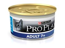 Purina Pro Plan Cat Adult 7+ Tuna / Консервы Пурина Про План для Пожилых кошек старше 7 лет Тунец (цена за упаковку)
