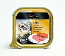 Заказать Edel Cat ( / Влажный корм) Нежный Паштет с Птицей Цена за упаковку (32 шт x) по цене 1800 руб