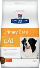 Hills Prescription Diet c / d Multicare Urinary Care / Сухой диетический корм Хиллс для собак при лечении и профилактике мочекаменной болезни (МКБ) Курица