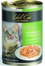 Edel Cat Индейка и Печень / Консервы (Влажный корм) Эдель Кэт нежные кусочки в Соусе с Индейкой и Печенью Цена за упаковку (24 шт x)