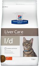 Заказать Hills Prescription Diet Feline l / d Лечебный корм для кошек Заболевание печени по цене 1480 руб
