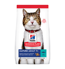 Hills Science Plan Mature Adult 7+ / Сухой корм Хиллс для Пожилых кошек старше 7 лет Тунец