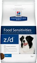 Hills Prescription Diet z / d Food Sensitivities / Сухой диетический гипоаллергенный корм Хиллс для собак при пищевой Аллергии