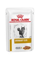 Royal Canin Urinary S / O / Ветеринарный влажный корм (Консервы-Паучи) Роял Канин Уринари для кошек при заболеваниях дистального отдела мочевыделительной системы (цена за упаковку)