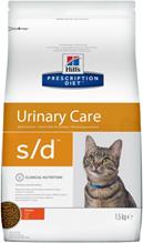 Hills Prescription Diet s\d Urinary Care / Лечебный корм Хиллс для кошек при МКБ Струвиты Курица