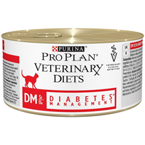 Purina Pro Plan Veterinary Diets DM Diabetes Management / Лечебные консервы Пурина Про План Ветеринарная Диета для кошек Сахарный диабет