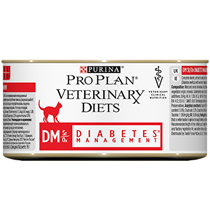 Purina Pro Plan Veterinary Diets DM Diabetes Management / Лечебные консервы Пурина Про План Ветеринарная Диета для кошек Сахарный диабет