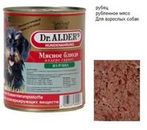 Dr Alders / Консервы Доктор Алдерс для собак всех пород Рубец (цена за упаковку)