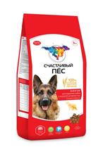 Заказать Счастливый Пес Сухой корм Энергия для взрослых собак с Высокой активностью с Курицей и Говядиной по цене 516 руб